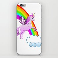 Jumping Over The Rainbow iPhone & iPod Skin