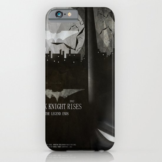 dark knight rises movie fan poster iPhone & iPod Case