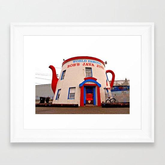 World Famous Bob's Java Jive Framed Art Print