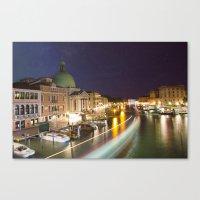 Goodnight Venice Canvas Print