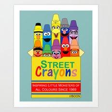 Color Me Sesame Art Print