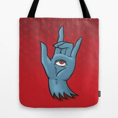 Hand of Fate Tote Bag