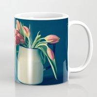 Thinking of You - Sending Tulips Mug