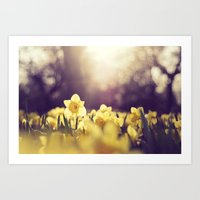 Yearning For Spring Art Print