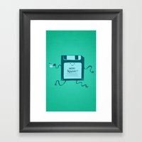 Save Your Great Monday Framed Art Print
