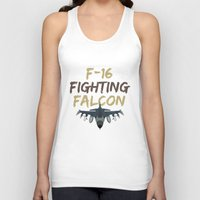 F-16 Fighting Falcon Unisex Tank Top