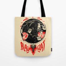 Black Goat Tote Bag