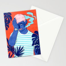MEET ME AT THE POOL 1 Stationery Cards