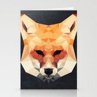 Island Fox Stationery Cards