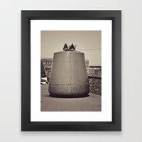 Old Maritime Buoy, Hook Head Co. Wexford, Ireland Framed Art Print