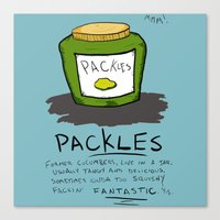 Packles Canvas Print