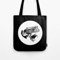 Black Frog IV Tote Bag