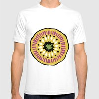 Tribal Aura Mens Fitted Tee White SMALL