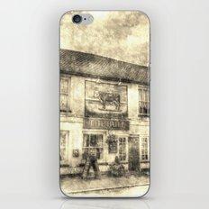 The Bull Pub Theydon Bois Vintage iPhone & iPod Skin