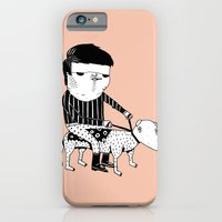 iPhone Cases featuring Jack the Dog Rider by Mr. JJ