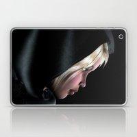 Hooded Girl Profile Port… Laptop & iPad Skin