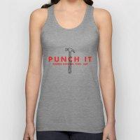 Punch it - Zombie Survival Tools Unisex Tank Top