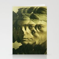 the indian wave 1 Stationery Cards