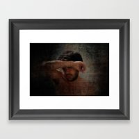 Explicit - Shame Framed Art Print