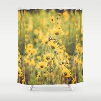 Saffron Wild About Me Shower Curtain