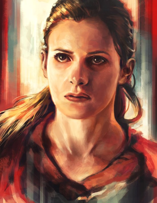 Molly Hooper Canvas Print