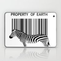 Property Of Earth Laptop & iPad Skin