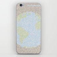 Environmental Consciousn… iPhone & iPod Skin