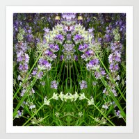 The Lavender Arch Art Print