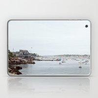 Massachusetts Fishing Village Laptop & iPad Skin