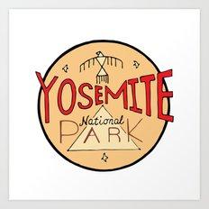 Yosemite National Park Art Print