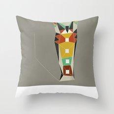 Modern Totem Throw Pillow