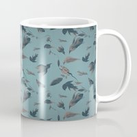 birds pattern Mug