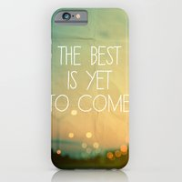 iPhone Cases featuring The Best Is Yet To Come by Alicia Bock