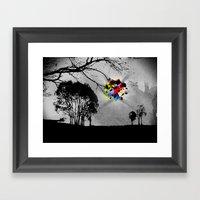 Clusters On Mind #2 Framed Art Print