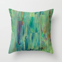 Abstract Painting 30 Throw Pillow