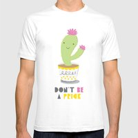 Don't Be A Prick Mens Fitted Tee White SMALL