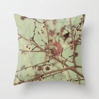 VINTAGE NATURE II Throw Pillow