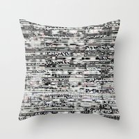 Removing Filters (P/D3 G… Throw Pillow