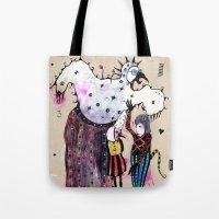 Birdy Mysterium Tote Bag