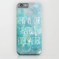 iPhone & iPod Case featuring this is our happily ever after by Sylvia Cook Photography