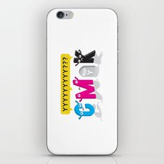 Four Colors and a Funeral iPhone & iPod Skin