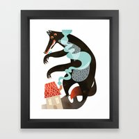 Who's Afraid Of Wolves? Framed Art Print