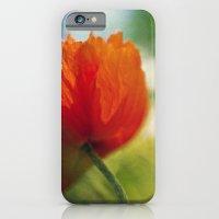 Poppy power iPhone 6 Slim Case