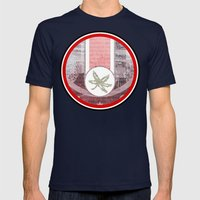 The Buckeye State Mens Fitted Tee Navy SMALL