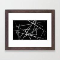 Six Degrees Framed Art Print