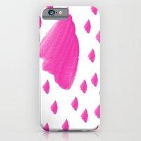 Purple Brushed Pattern iPhone 6 Slim Case