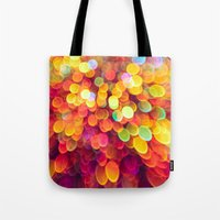 Light And Shimmer Tote Bag