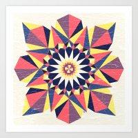 Simetree Art Print