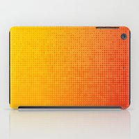 Yellorange Dots iPad Case