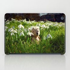 Amongst the Snowdrops iPad Case